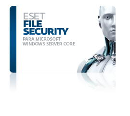 ESET File Security para Microsoft Windows Server Core